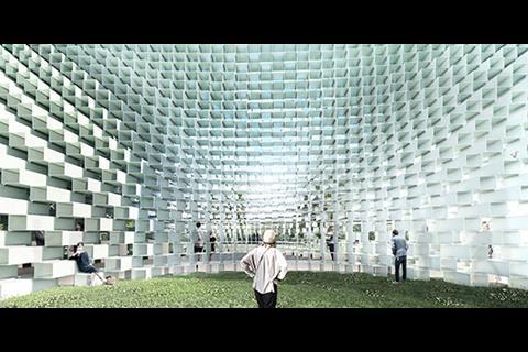 Valley - Serpentine Pavilion 2016 designed by Bjarke Ingels Group (BIG)